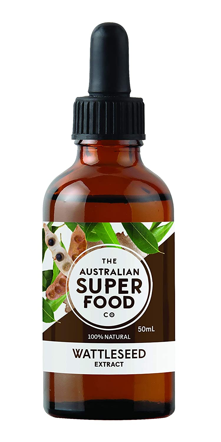 Wattleseed Extract | 100 Percent Natural no Added Sugar | by the Australian Superfood Co | 1.69 OZ