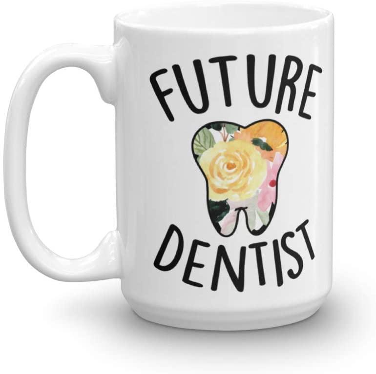 Future Dentist Cute DDS Coffee & Tea Gift Mug | Future Dentist Mug | Gift For Dentist | Dentist Gift | Doctor Of Dental Surgery Mug | Dental School Graduation Gift | Dental Student Mug (15oz)