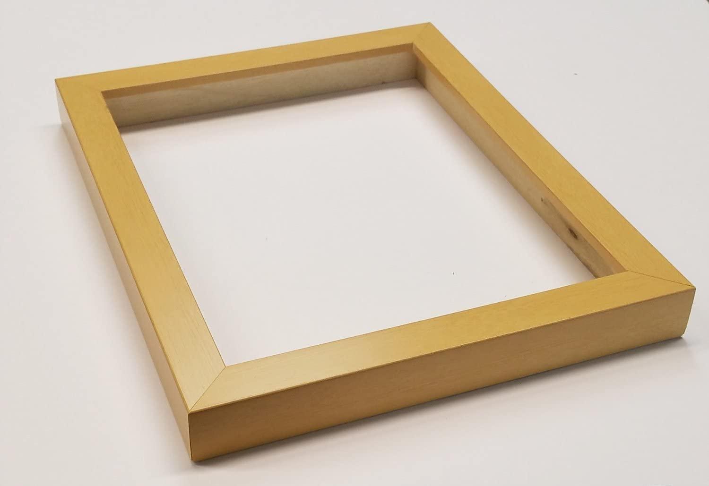 Shadowbox Gallery Wood Frames - Natural, 10 x 10