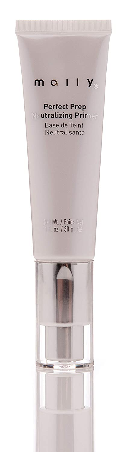 Mally Beauty – Perfect Prep Neutralizing Primer – Color-Correcting Hue for Sallow Tones & Redness – 1 Ounce – MY.2083