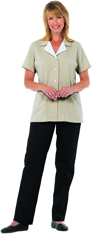 Averill's Sharper Uniforms Women's Ladies MicroCheck Housekeeping Tunic