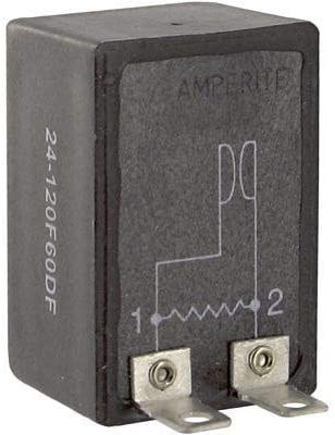 24-120F120DF - Time Delay Solid State Relay, Panel, Socket, 2 A, Repeat Cycle (Pack of 2) (24-120F120DF)