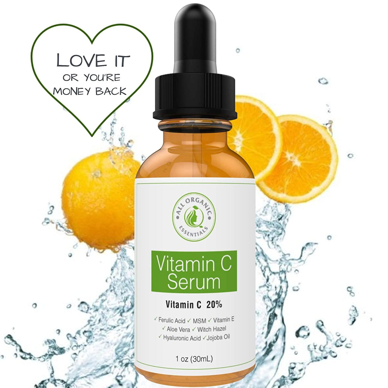 All Organic Essentials Vitamin C Serum for Face