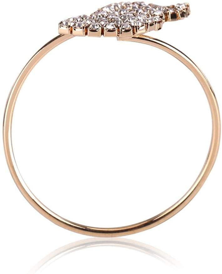 Delaman Napkin Ring, 12Pcs Rhinestone Napkin Ring Set Handmade Buckle Holder Wedding Dinner Decoration for Dinner Parties Weddings