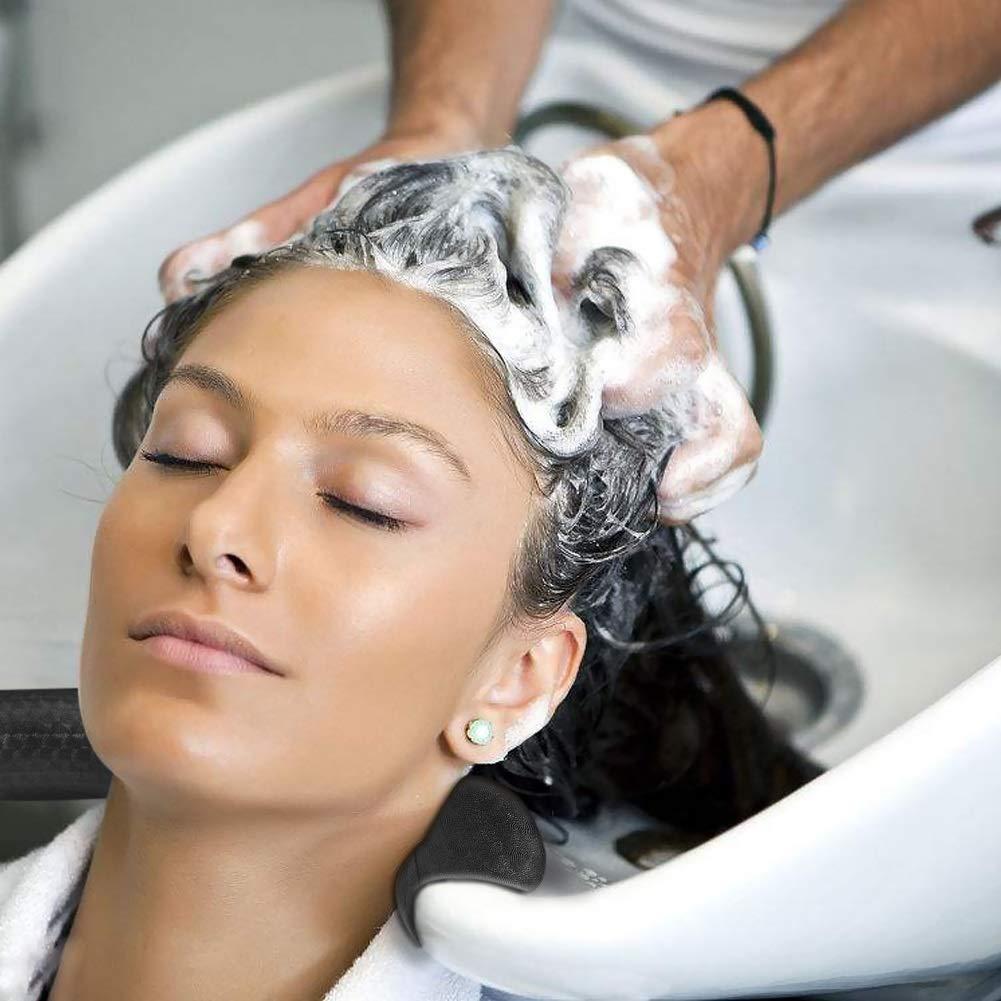 Neck Rest Pillow - Salon Spa Hair Beauty Washing Sink Shampoo Bowl Neck Rest Pillow Cushion Gripper Gel Hair Dye Mixe