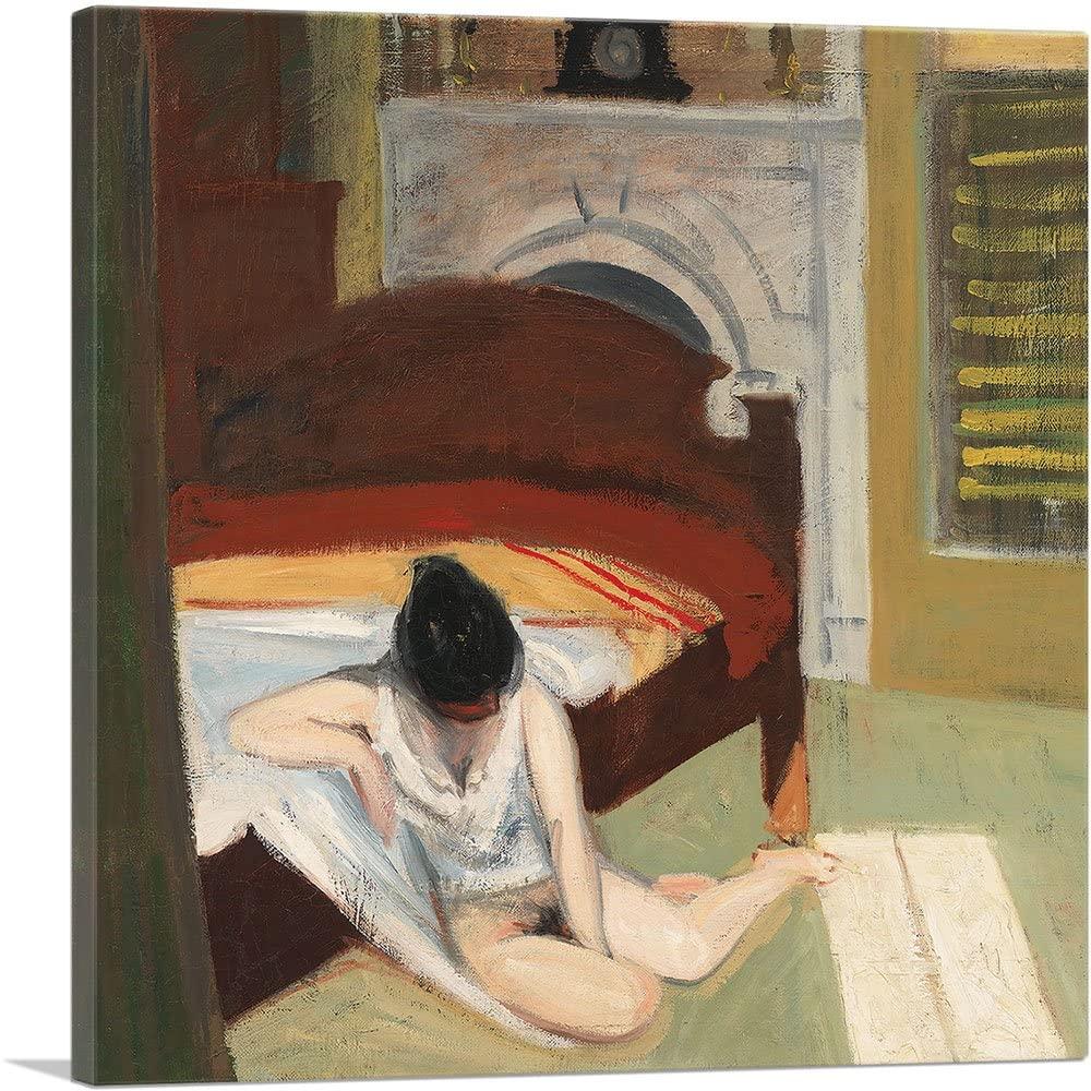ARTCANVAS Summer Interior 1909 Canvas Art Print by Edward Hopper - 12