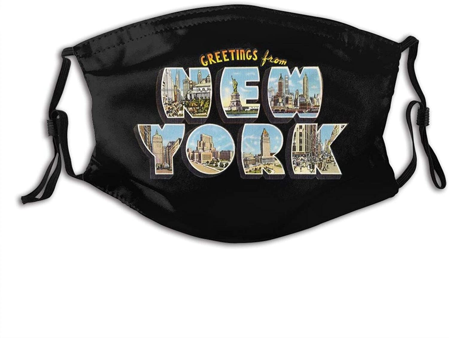 Cool American City Tampa Face Mask Washable & Reusable - Adjustable & Breathable Fliter Fashion Scarf