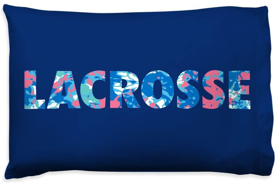 Floral Pillowcase | Girls Lacrosse Pillows by ChalkTalk Sports