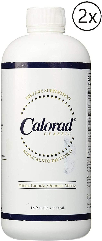 Nutri-Diem Calorad Classic Marine (2 Bottle) 16.9oz Supplement Rebuild Lean Muscle Tissue