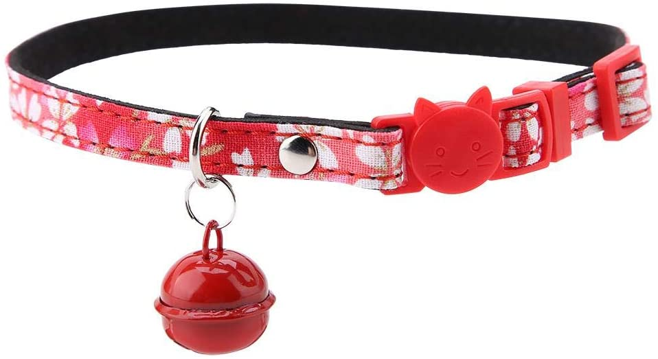 Semme Pet Neck Collar, Dog Collar Adjustable Pet Dog Cat Neck Collar Beautiful Floral Bowknot Decorative Neck Ring, Adjustable Collars for Dogs