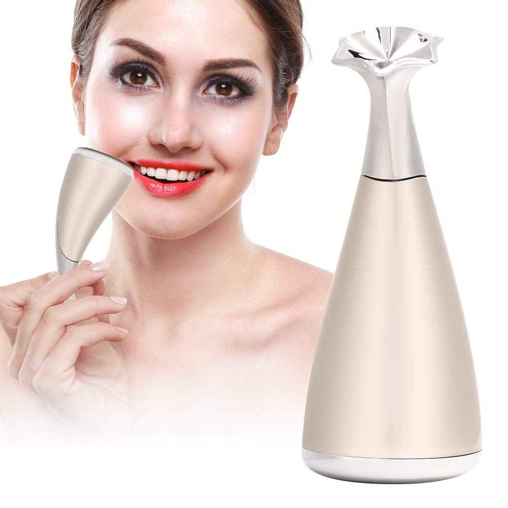 Beauty Instrument, Face Massager for Vibration Skin Rejuvenation Massager for Eye and Face, Massage Device, Anti-Age, Health and Beauty