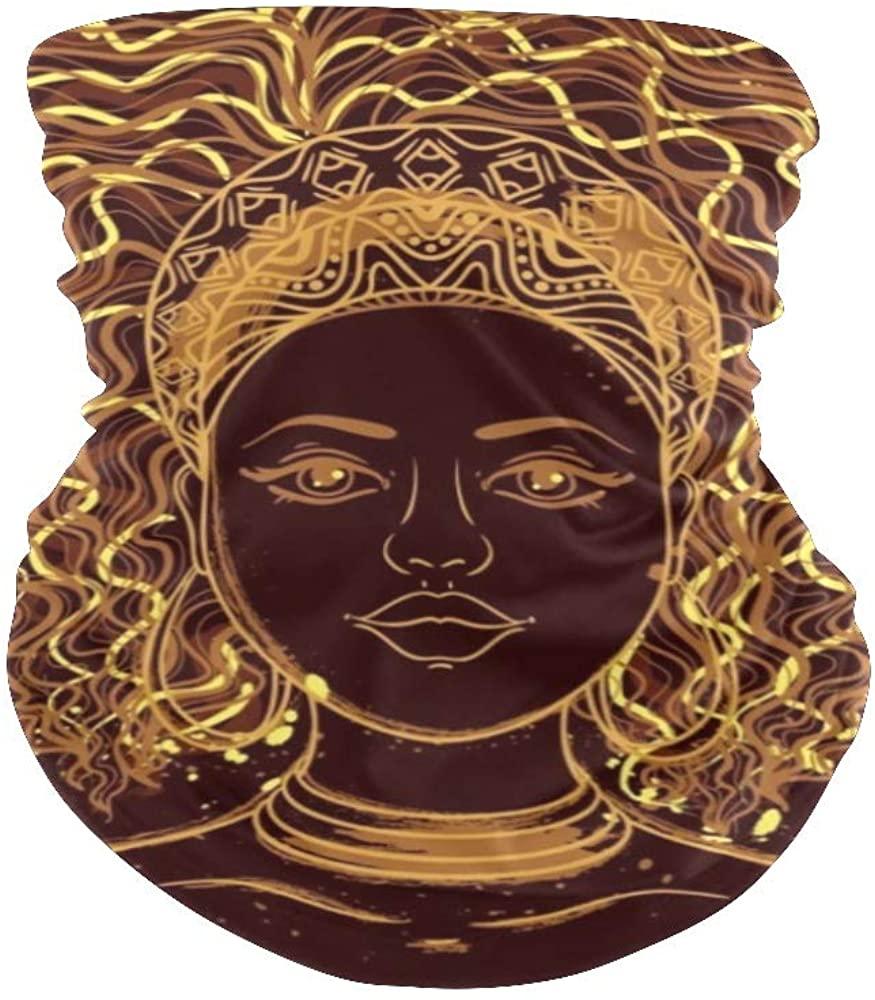 Balaclava Face Mask Neck Gaiter Colours Diamond Bandanas for Out Doors, Festival,Sport