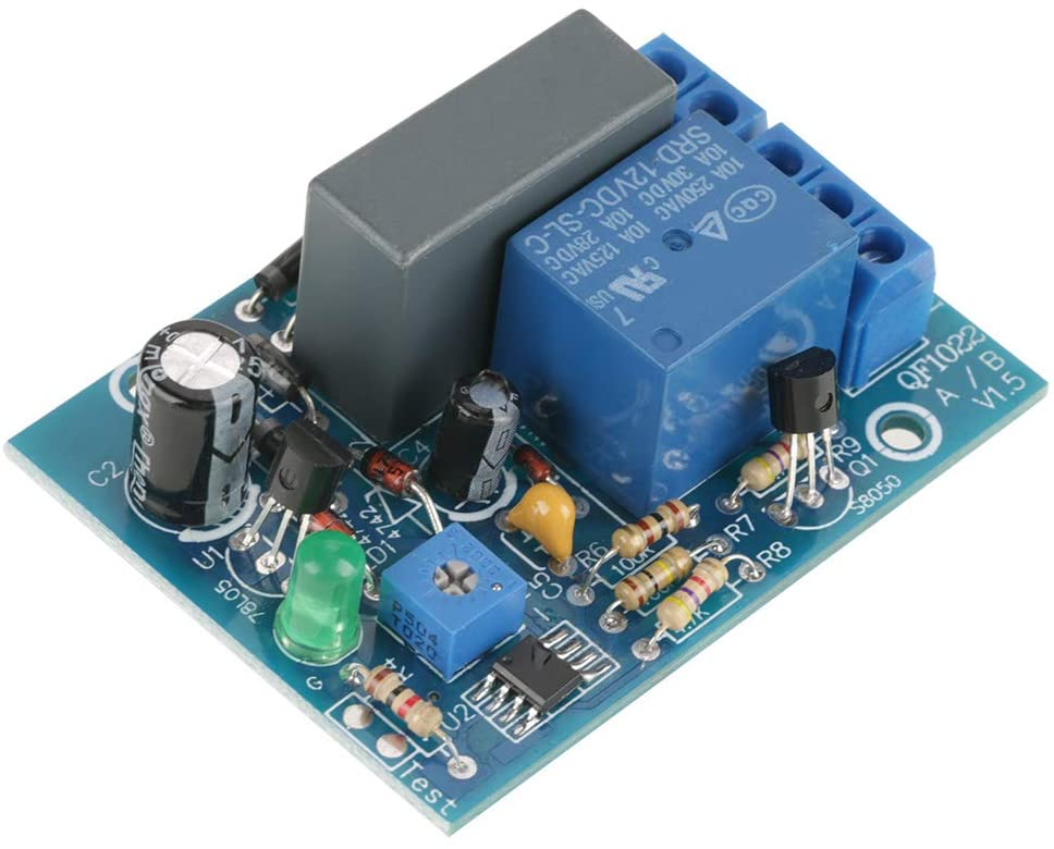 oenbopo Timer Module Adjustable Timer Delay Turn Off Switch Time Relay Module Load 220VAC (0~100 Min)
