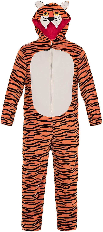 Funstuff Animal Fleece Costume Cosplay Onesie Coveralls