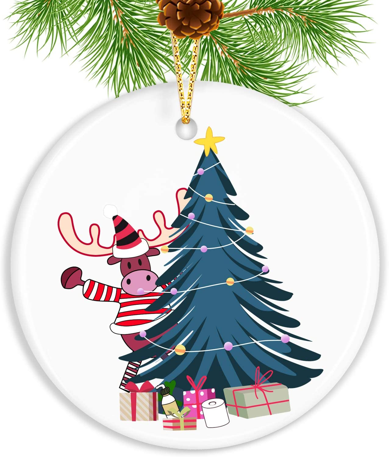 Touber 2020 Christmas Ornaments/Customized Christmas Tree Ornaments
