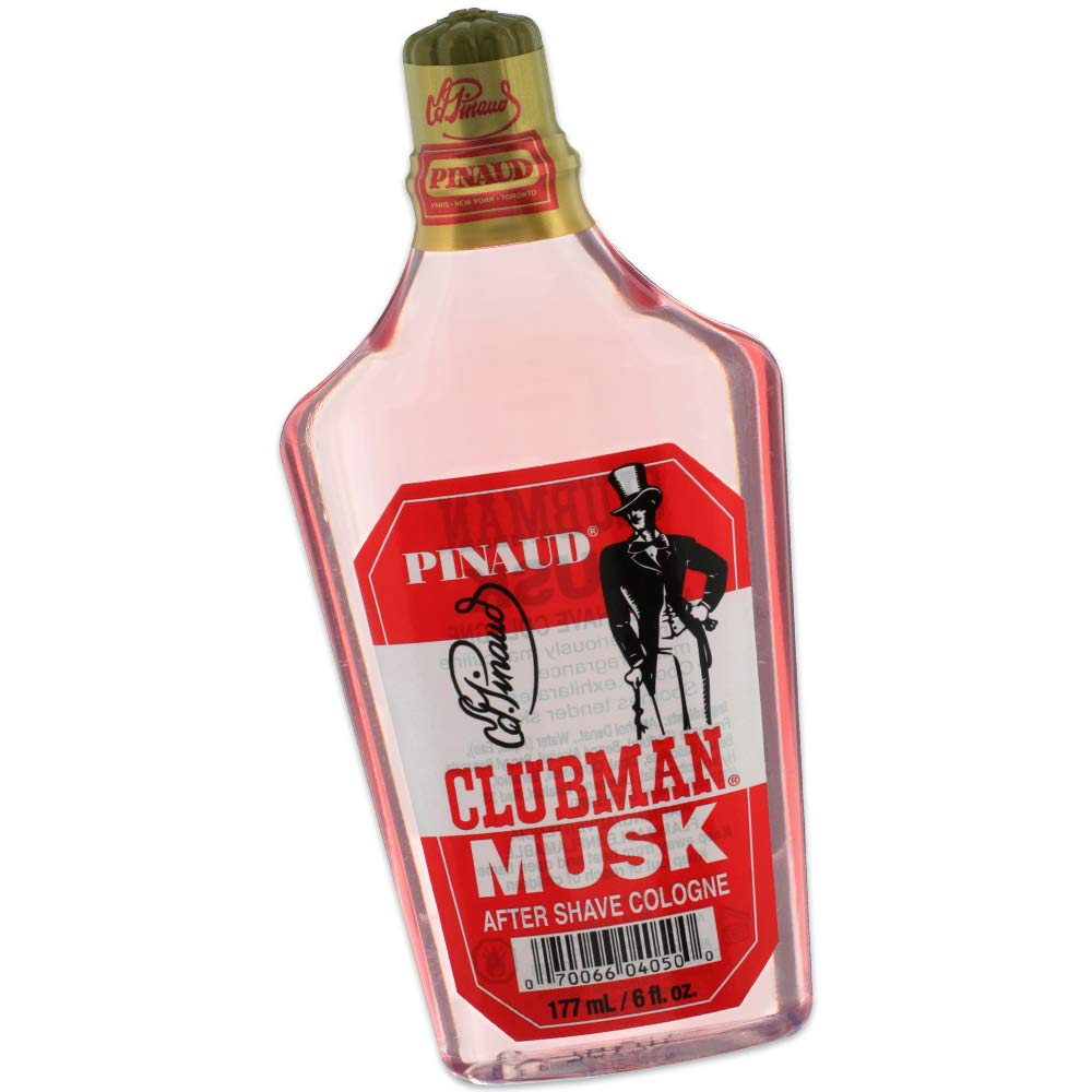 Clubman Pinaud Musk After Shave Cologne, 6 oz