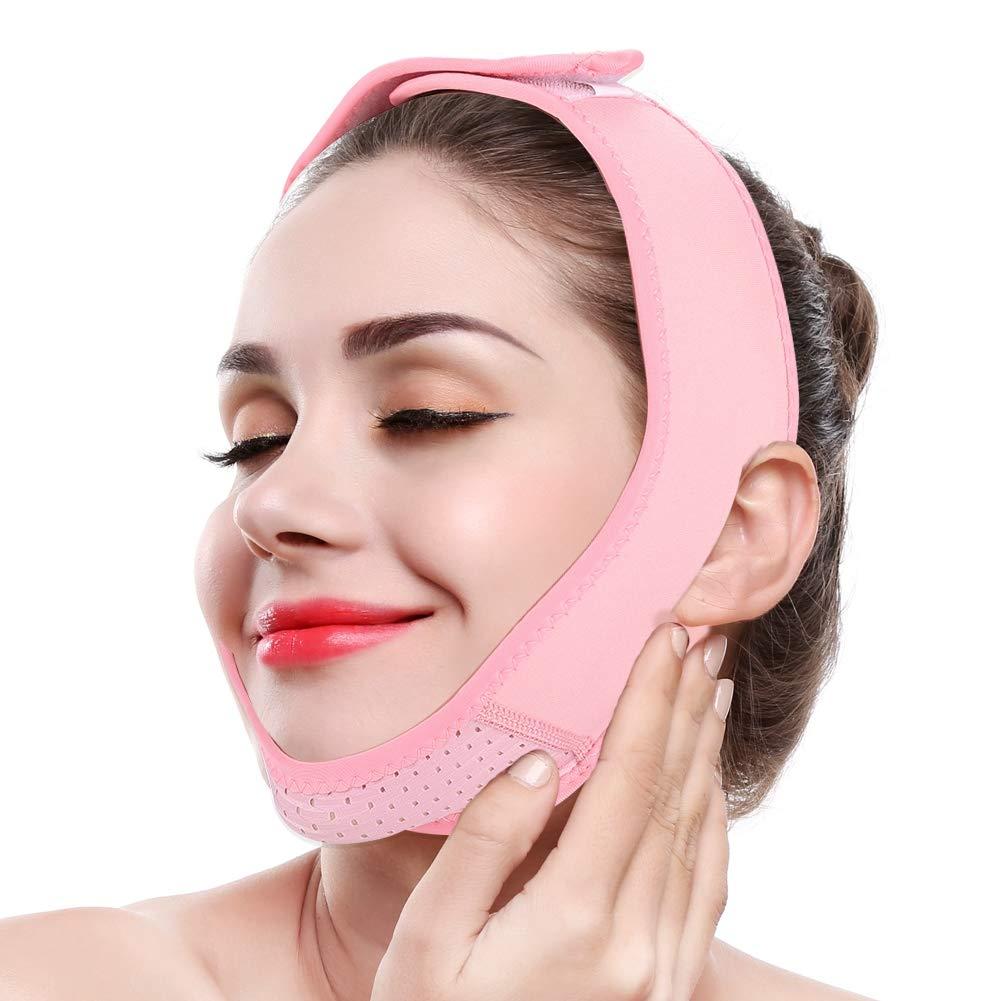 V Face Mask,V Line Mask,V Face Bandage,Elastic Breathable Facial Lifting,Double Chin Pressure Reducer,Face Lifting,Face Firming