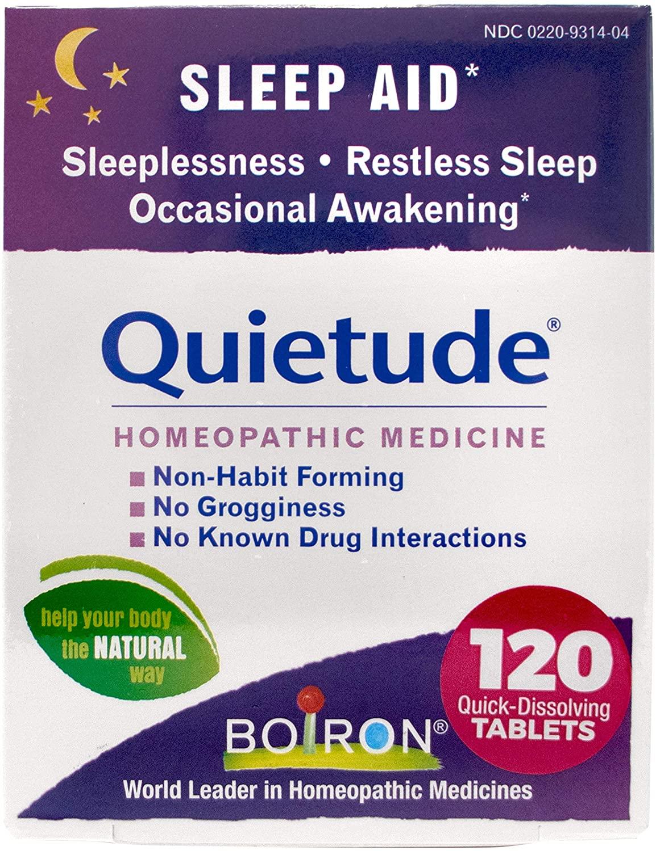 Boiron Quietude Tablets Sleep Aid