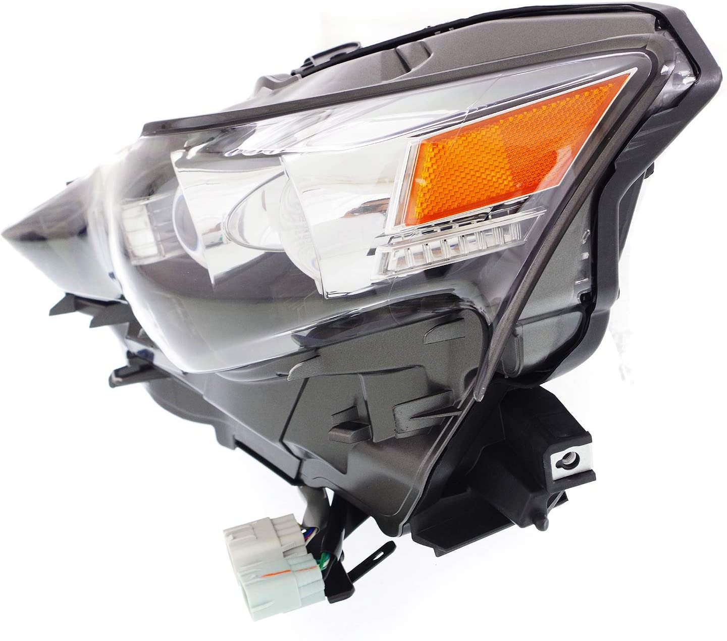 Headlight Assembly Compatible with 2016 Lexus IS200t IS300 LED Driver Side