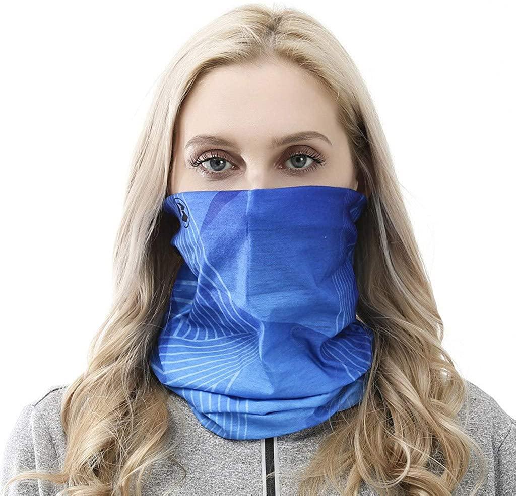 Fastbot Neck Gaiter Bandanas Elastic Bands Face Scarf Ice Silk Balaclava Headwear Headbands Summer Protect Tube Tie Dye