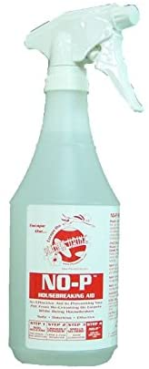 Planet Urine No P Housebreaking Aid, Dog and Cat Deterrent Spray for Peeing Indoors or Outdoors, for Potty Training