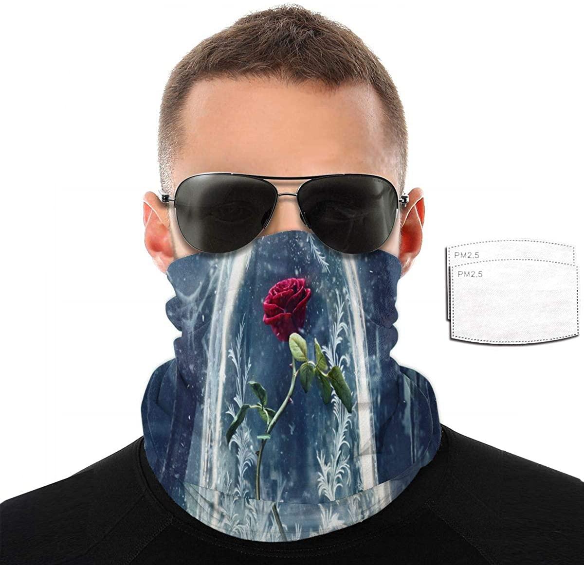 Face Cover Mask Reusable Neck Gaiter Multifunction Headband - Blue Purple Galaxy