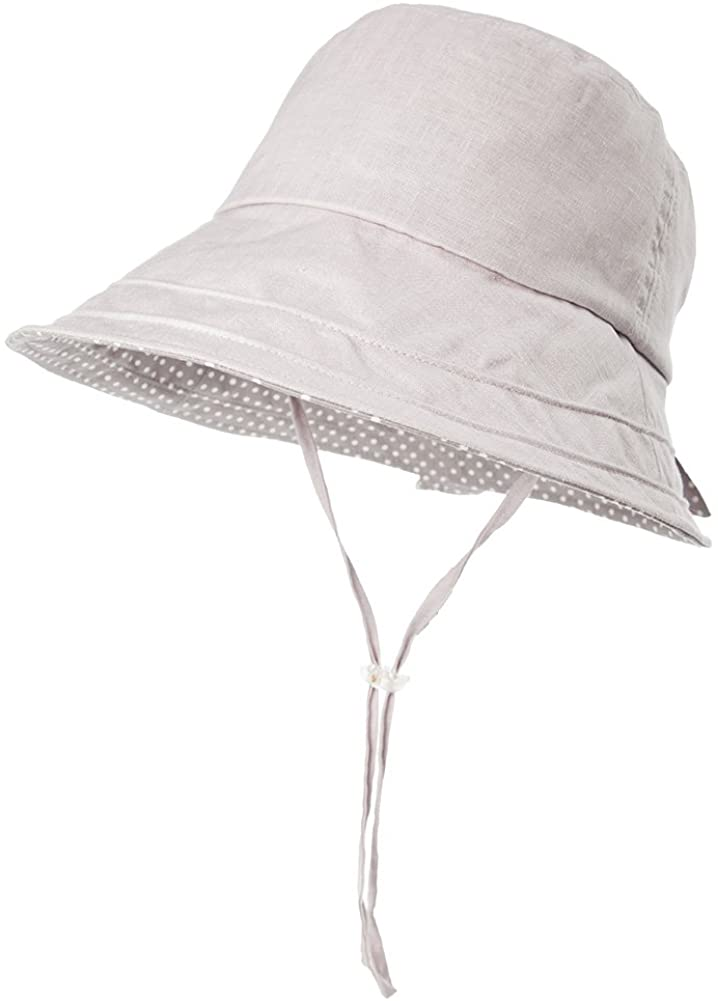 Fancet Packable Sun Bucket Hats for Women with String Beach SPF Protection Bonnie Gardening 55-59cm