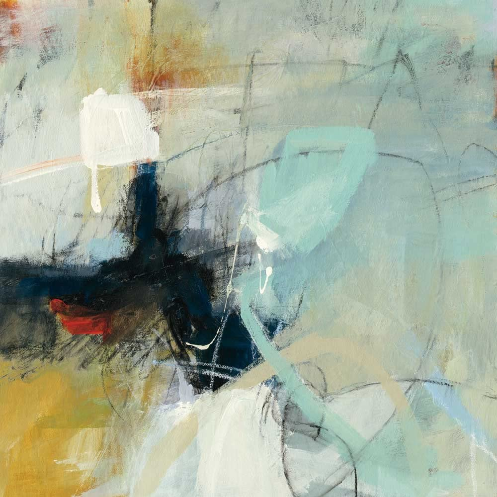 Giant Art Apex Huge Modern Abstract Giclee Canvas Print for Office Home Wall Decor Stretcher 54 x 54