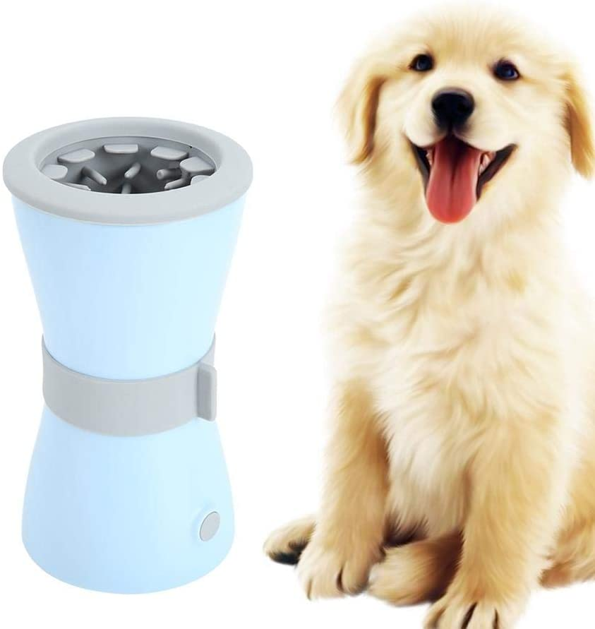 Dog Foot Washing Cup, Foot Washing Tool Electric Paw Cleaning Cup Pet Paw Cleaning Cup, for Dogs Foot Washing Paws Cleaning Cats