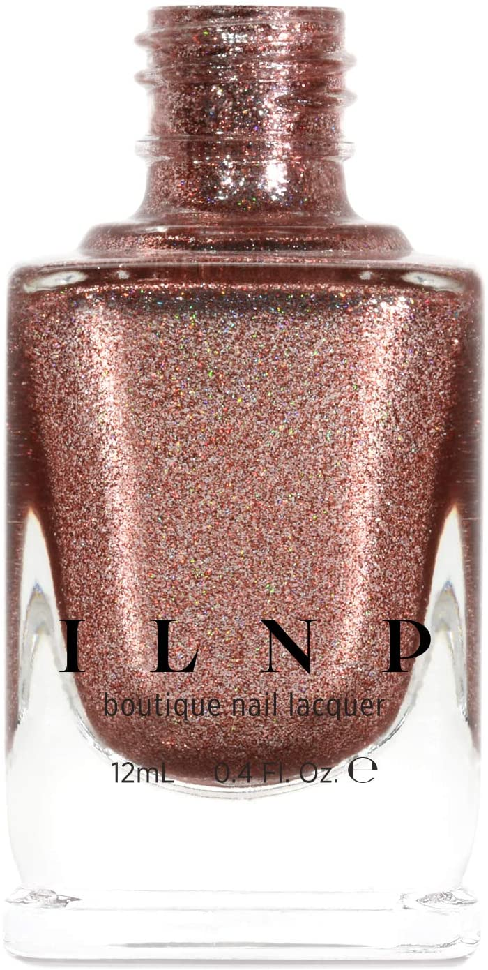 ILNP Muse - Radiant Copper Holographic Ultra Metallic Nail Polish