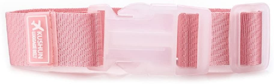Tinksky Luggage Straps Suitcase Belt Travel Accessories (Pink)
