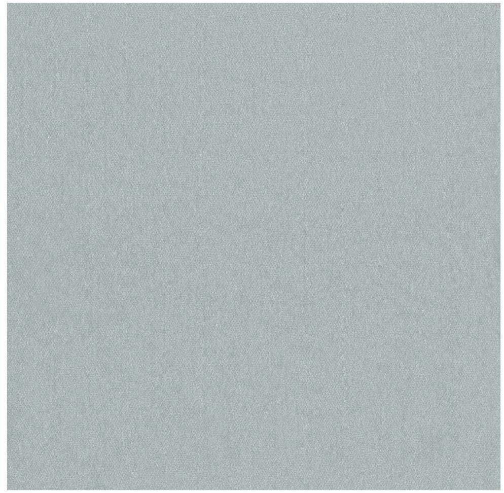 Caspari Paper Linen Solid Dinner Napkins in Silver - Four Packs of 12