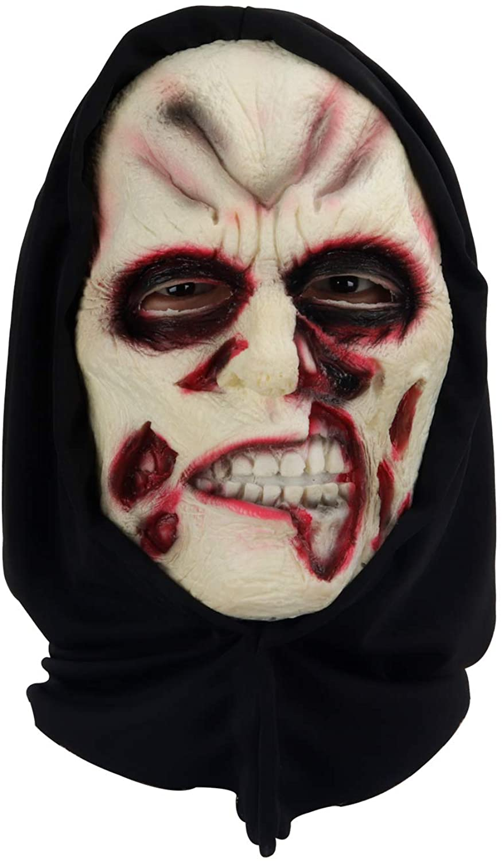 molezu Scary Halloween Mask Horror Costume Cosplay Soft PU Foam Adult Party Masks