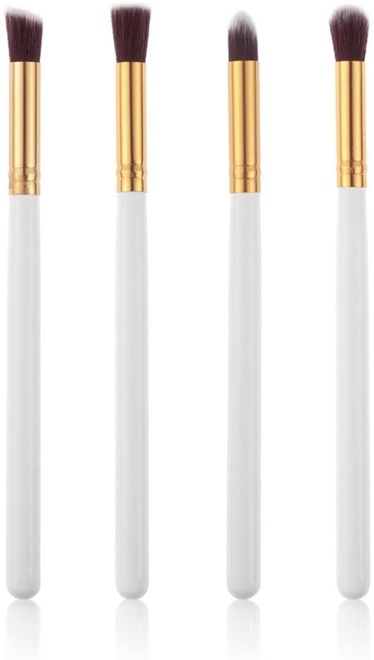 WINOMO 4pcs Eye Brushes Set Eyeshadow Blending Pencil Brush Makeup Lip Eye Blush Kit