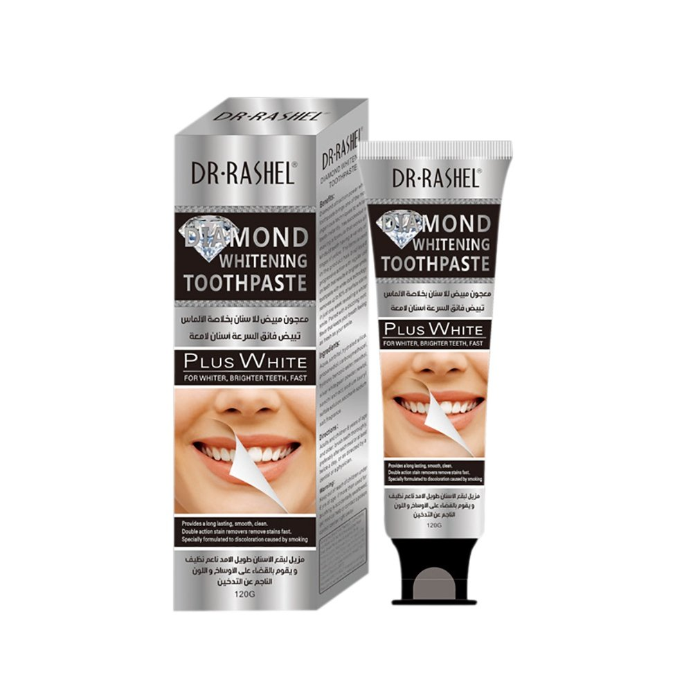 Ofanyia Diamond Whitening Toothpaste, Fast Whiter & Brighter The Teeth, Restores Whiteness & Strengthens The Teeth