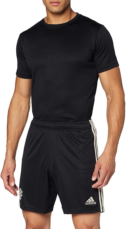 adidas Manchester United 2019/20 Mens Away Football Short Black
