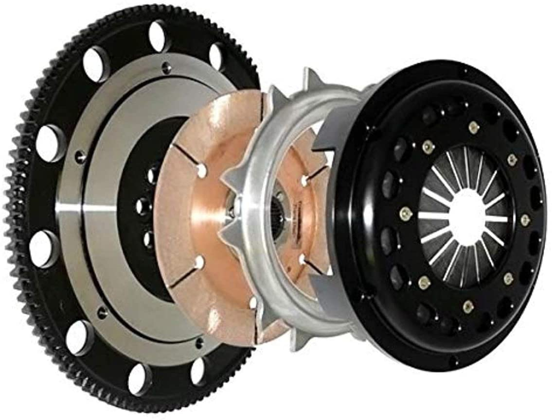 Competition Clutch 4S-8037-C Clutch Kit(02-08 Acura RSX / 03-06 Honda Accord Race (1000whp) Super Single Ceramic)