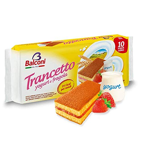 Trancetto Snack with Strawberry Filling, 10pk 280g