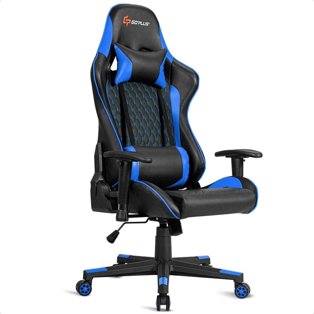 Massage Reclining PC and Racing Game Chair