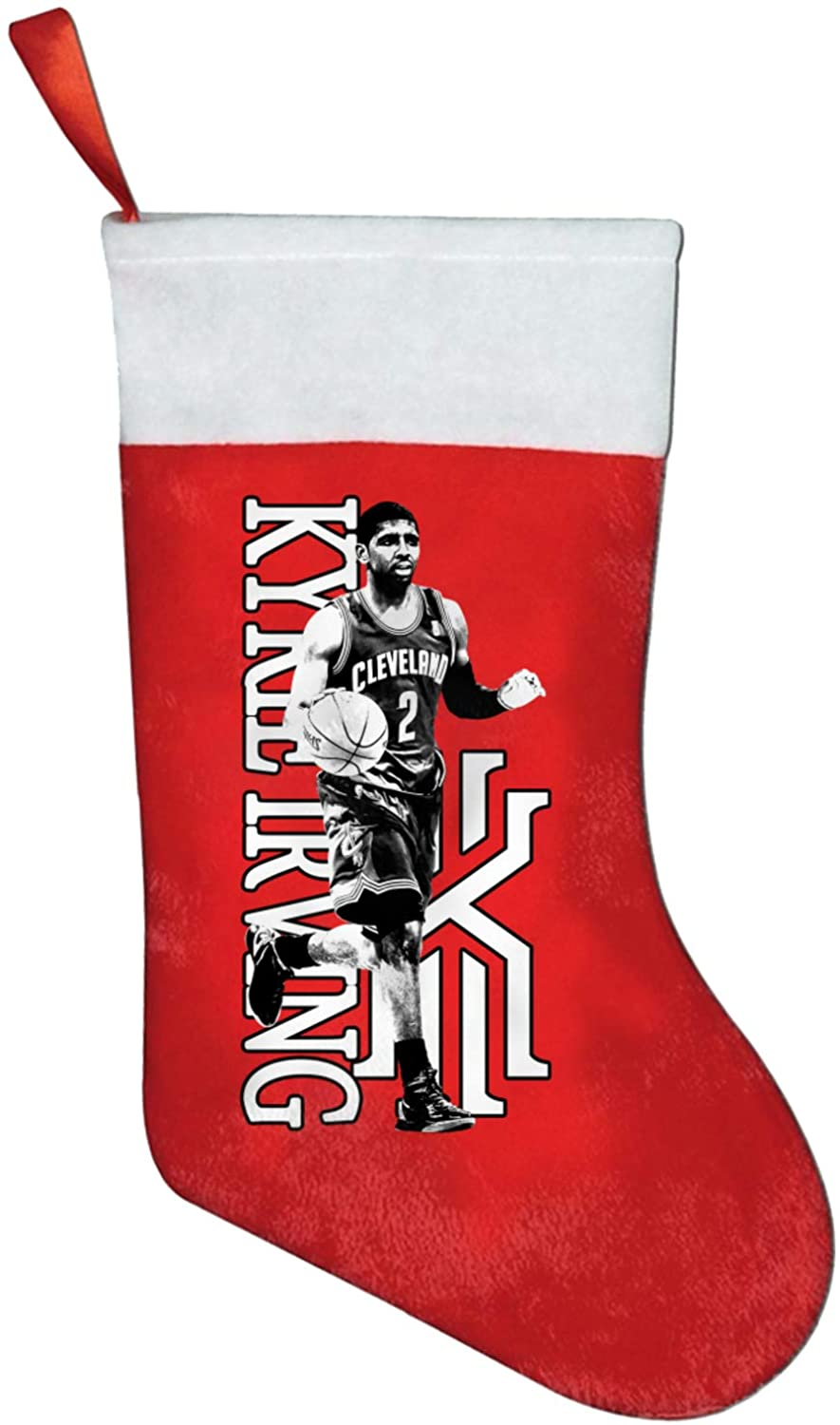 Sneakersssa Irving Christmas Santa Stockings Red Fireplace Hanging Stockings For Family Holiday Xmas Party Decorations
