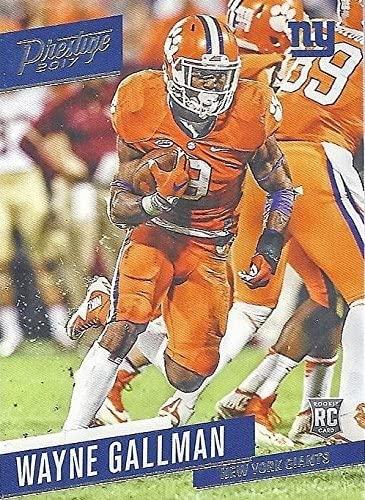 Wayne Gallman Football Card (Clemson Tigers, New York Giants) 2017 Panini Prestige Rookie #269