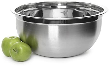 YBM Home Deep Professional Quality Stainless Steel Mixing Bowl For Serving, Mixing, Baking Cooking (1, 20 Quart)