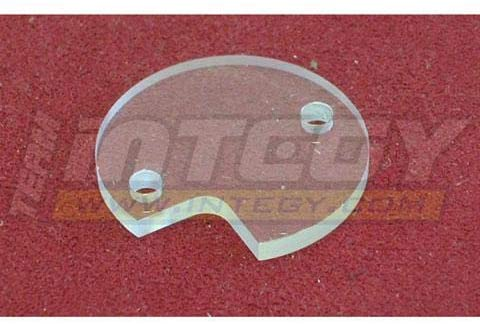 Integy RC Model Hop-ups C22730 Clear Gear Box Dust Cover for Super Clod Buster