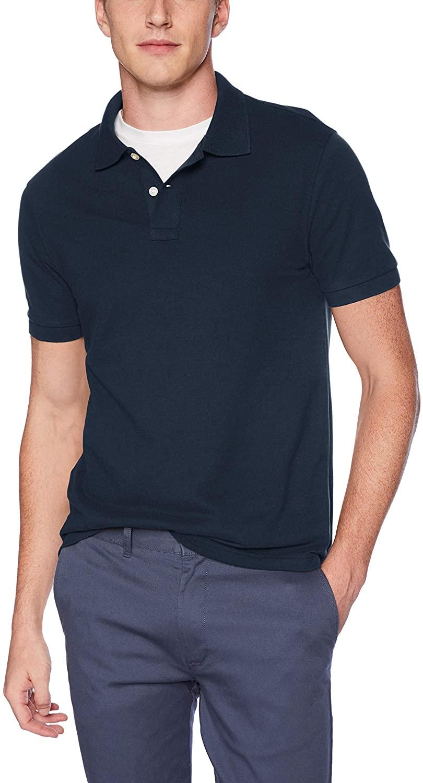 J.Crew Mercantile Men's Short Sleeve Pique Polo Shirt