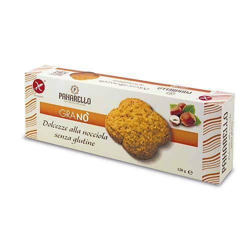 Gluten Free Hazelnut Cookies by Panarello (120 gram)