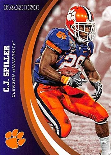C.J. Spiller football card (Clemson Tigers) 2016 Panini Team Collection #16