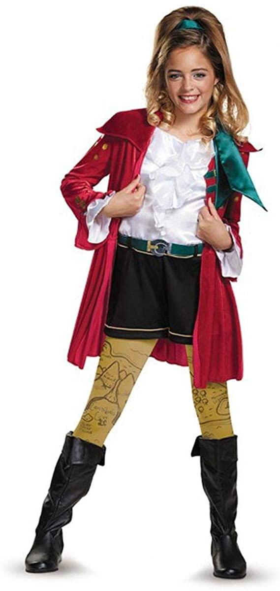 CJ Deluxe Descendants Wicked World Disney Costume, Medium/7-8