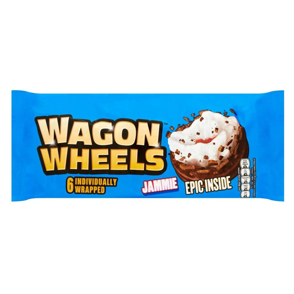 Wagon Wheels Jammie 6 Pack 300G