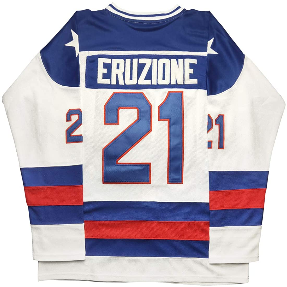 Kobejersey Mike Eruzione Jersey, Eruzione #21 1980 Miracle USA Ice Hockey Jerseys …