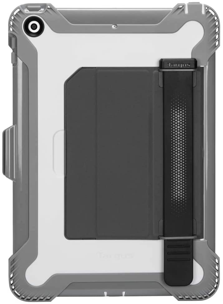 Targus SafePort Rugged Healthcare Case for iPad (7th gen.) 10.2-inch made with Non-Porous Medical-Grade PC and TPU, Military Grade Drop Protection, White/Gray (THD49912GLZ)